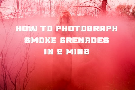how to photograph smoke grenade